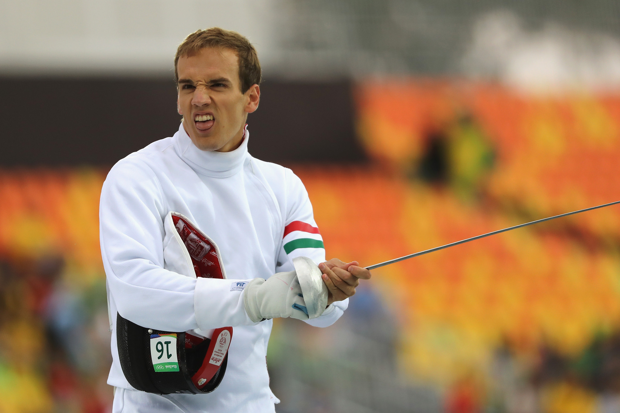 Hungarian tops men's qualification standings at UIPM World Cup