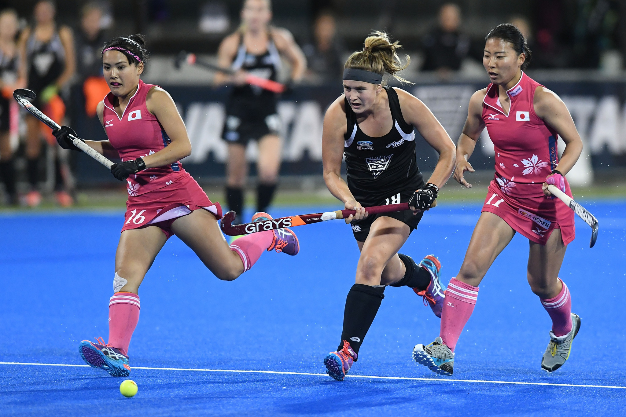 The exact reasons behind Tessa Jopp's withdrawal from New Zealand's hockey team have not been revealed ©Getty Images