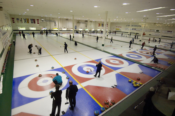 The Kelowna Curling Club will host the World Mixed Curling Championship this year ©Kelowna Curling Club