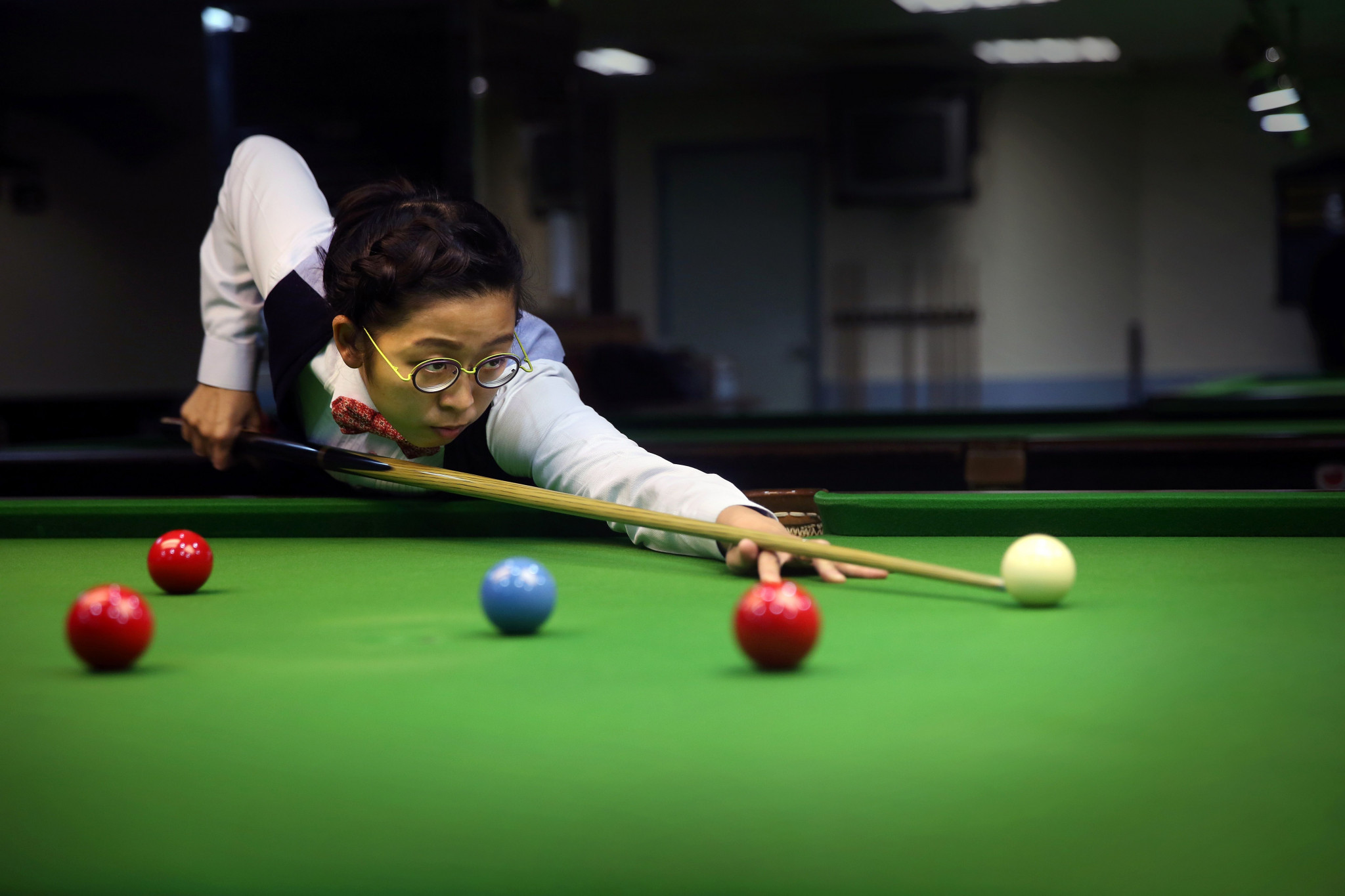 Ng On-yee is hoping to qualify for the main draw of the men's competition at the Crucible next month ©Getty Images
