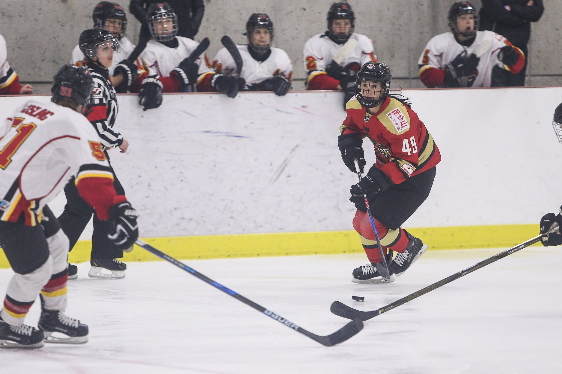 Chinese Team S Impressive Performance In Canadian Women S Hockey