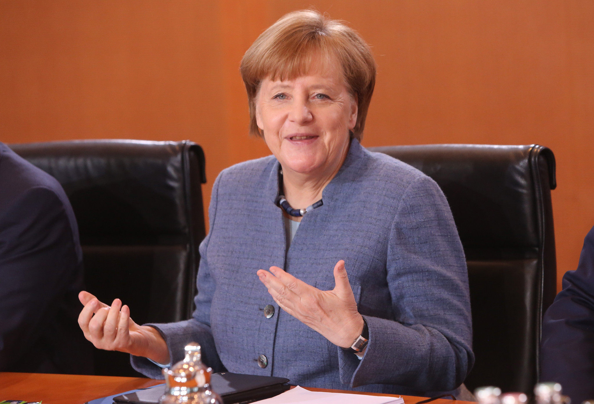 Merkel to be patron of 2019 Luge World Championships