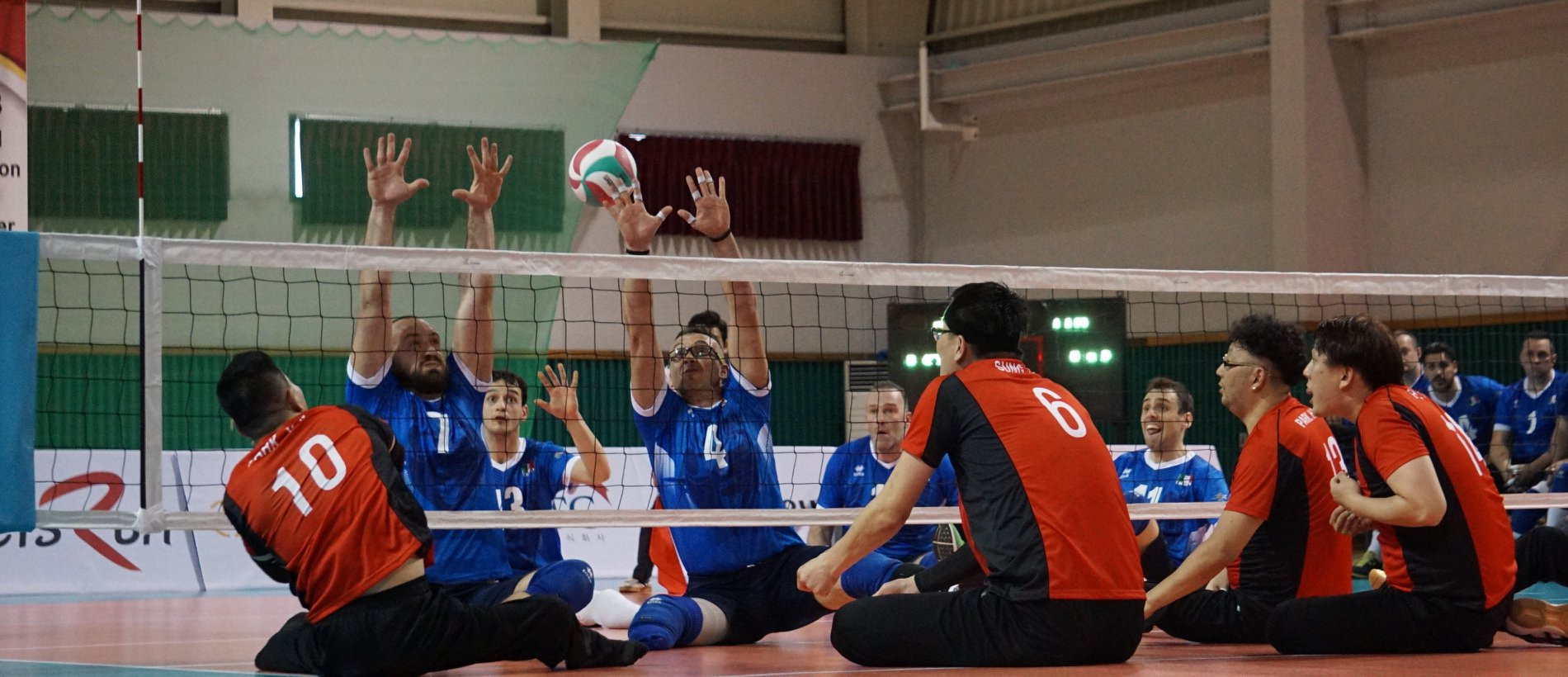 South Korea continue good form at final qualifier for 2018 Sitting Volleyball World Championships