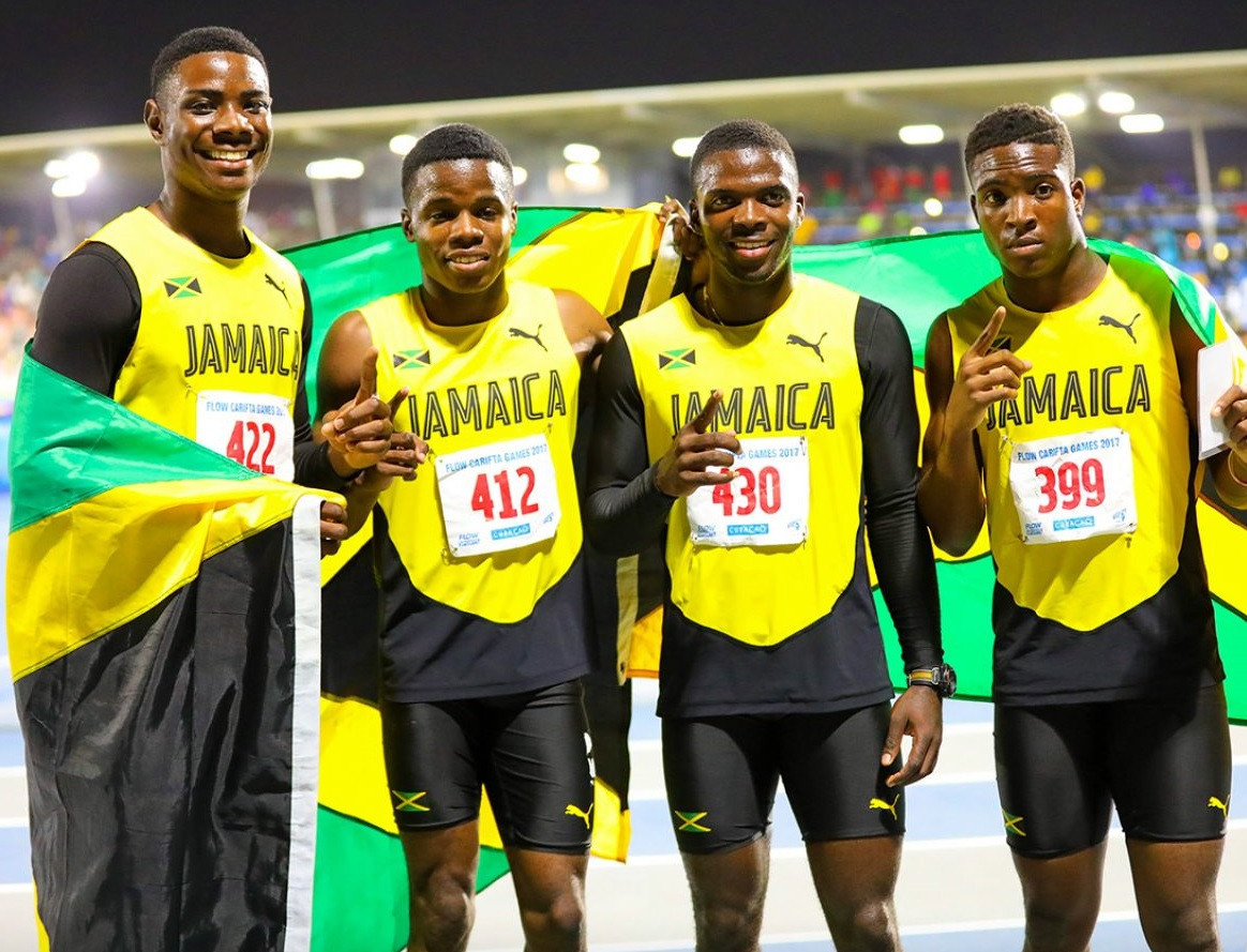 The Jamaicans will be looking to extend their winning run at the CARIFTA Games ©Jamaica Olympics