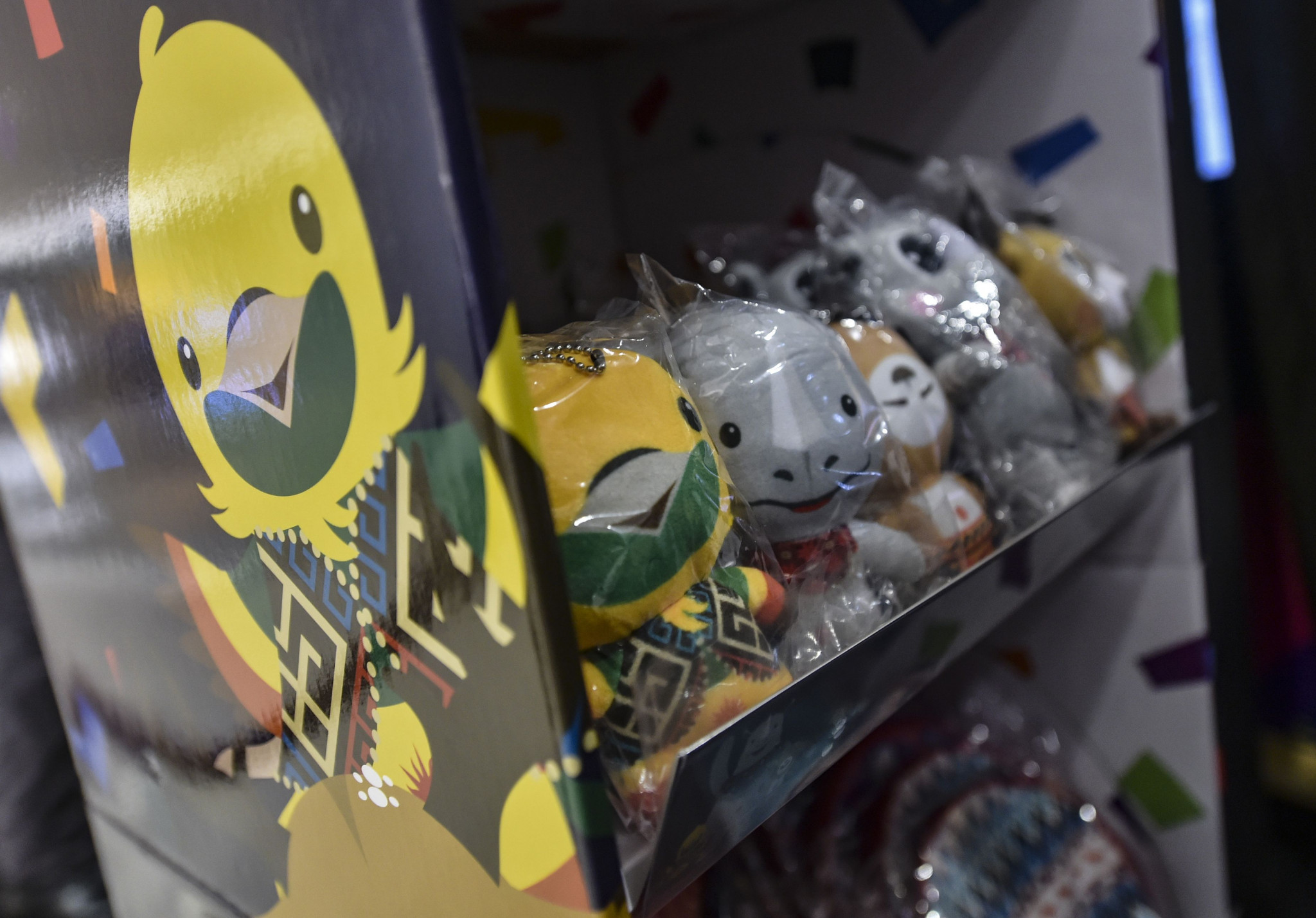 The launch of the merchandise for the 2018 Asian Games had been slightly delayed for quality control reasons ©Getty Images