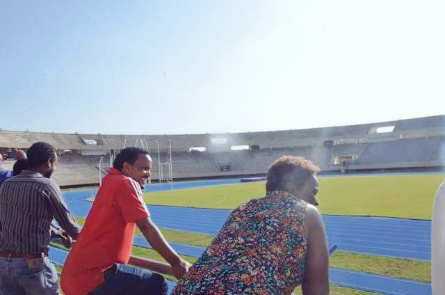 Delegates have been inspecting venues for this summer's African University Games ©FISU