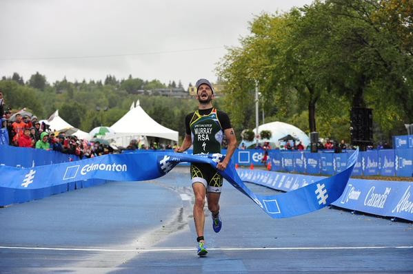 Murray holds off World Triathlon Series leader Gomez to top podium in Edmonton