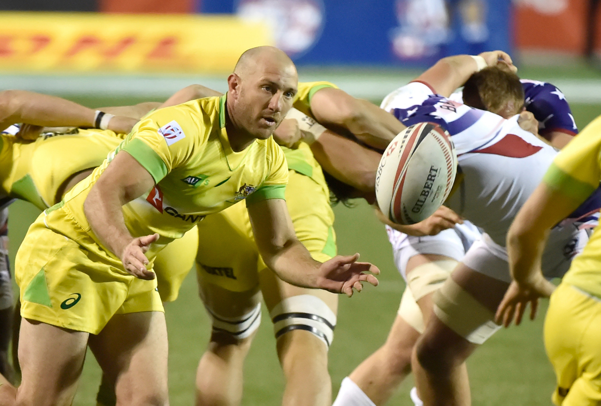 Australian rugby sevens captain James Stannard has been hospitalised following an attack ©Getty Images