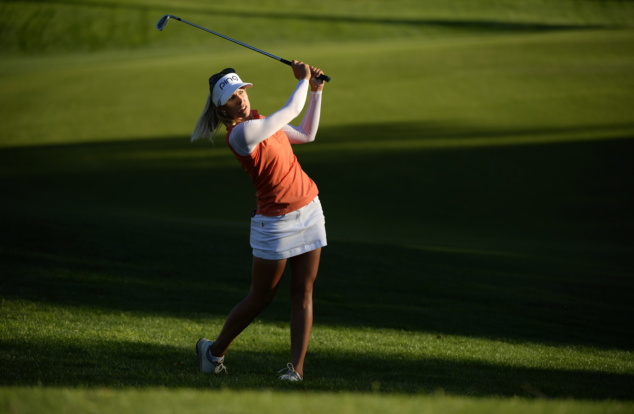 Lindberg leads ANA Inspiration after impressive opening round