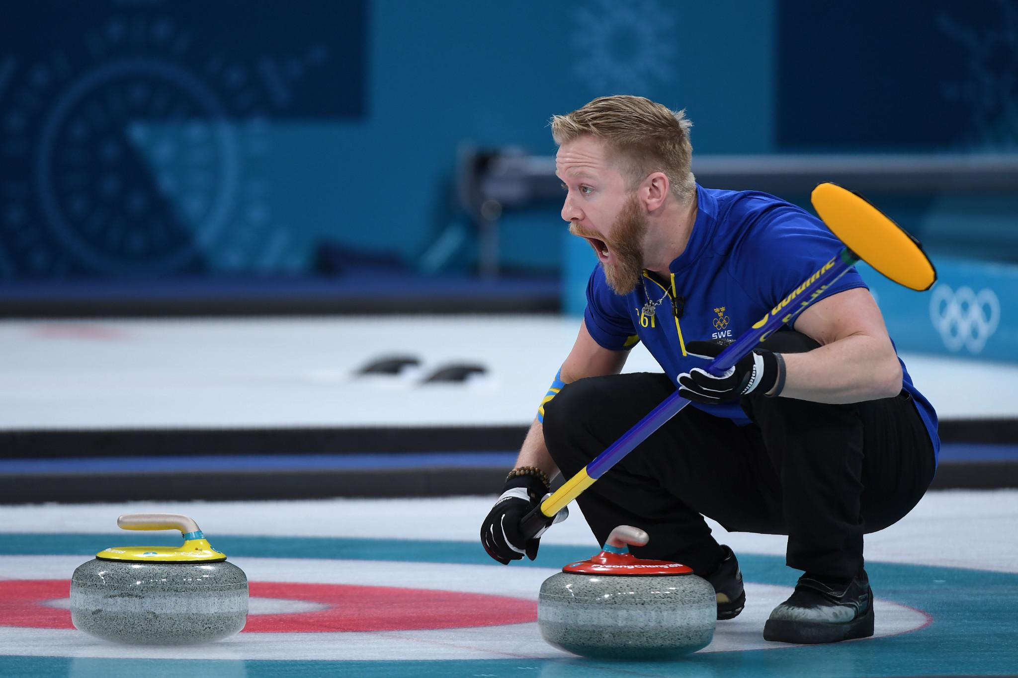 Pyeongchang 2018 silver medallists Sweden seek World Men's Curling ...