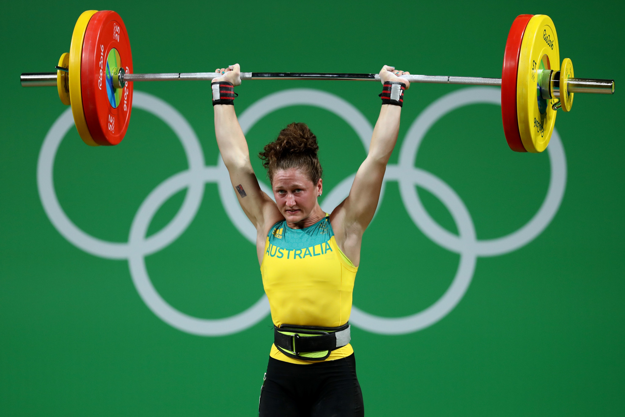 Australia's Tia-Clair Toomey is another star of weightlifting to transition from CrossFit ©Getty Images