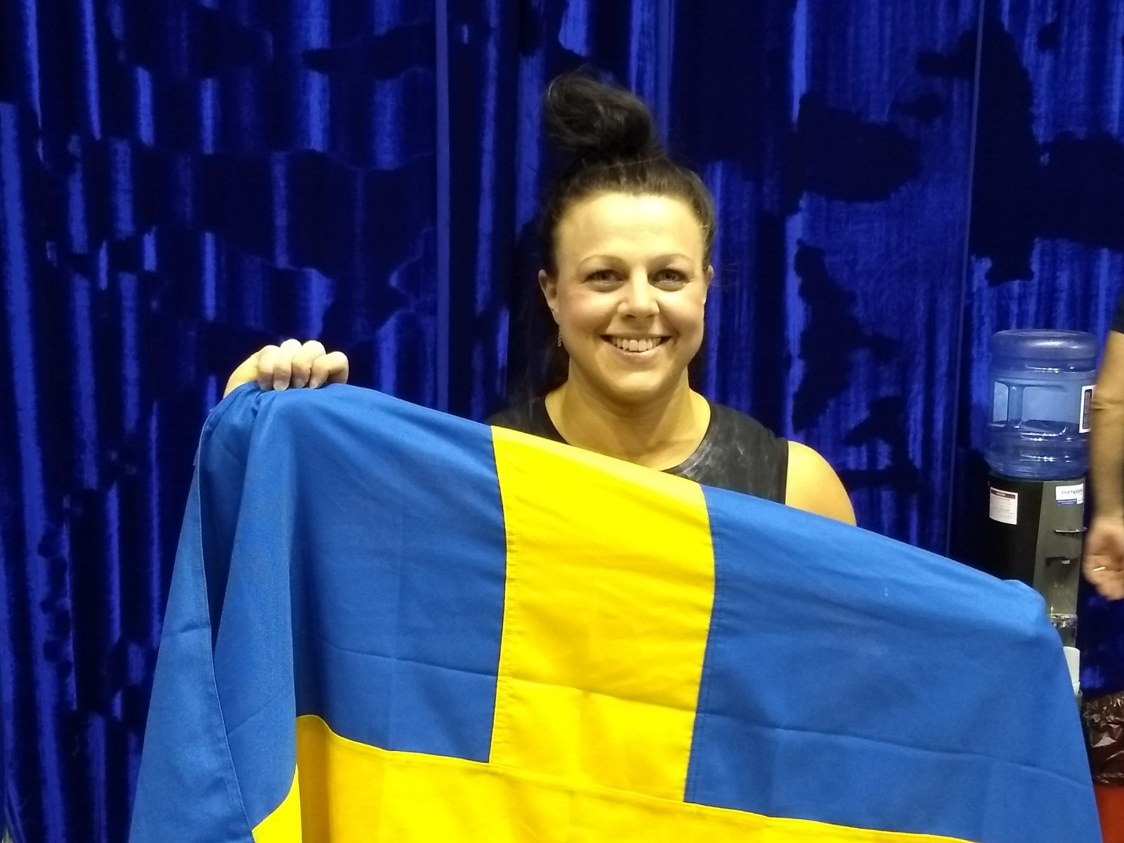 Strenius is first Swedish woman - and first CrossFit weightlifter - to win European gold