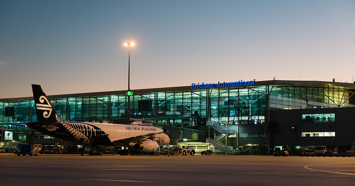 Nine Indian nationals were detained on arrival in Brisbane ©Brisbane Airport