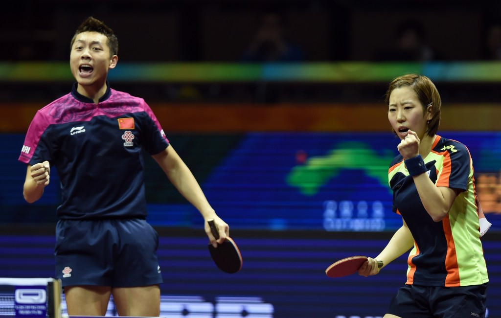 The ITTF's proposal would see only athletes qualified for one of the other table tennis events able to compete in the mixed doubles competition ©Getty Images