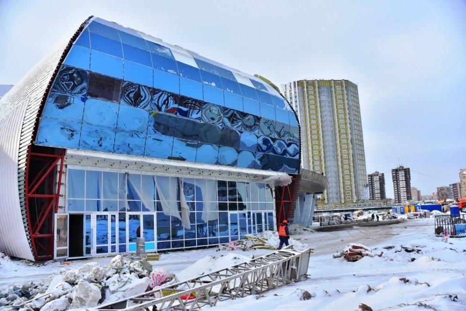 Krasnoyarsk 2019 confirm infrastructure improvement around Crystal Arena