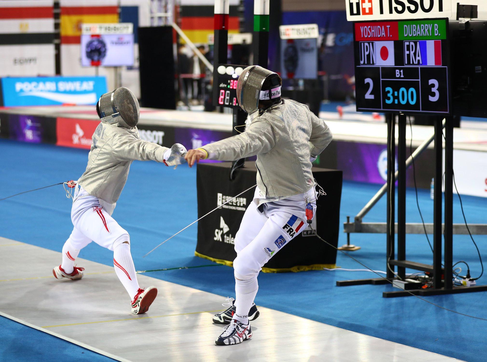 Hungary's Decsi tops men's qualification at FIE Sabre Grand Prix in Seoul