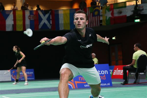 Caljouw shocks favourite Verma to reach BWF Orléans Masters final