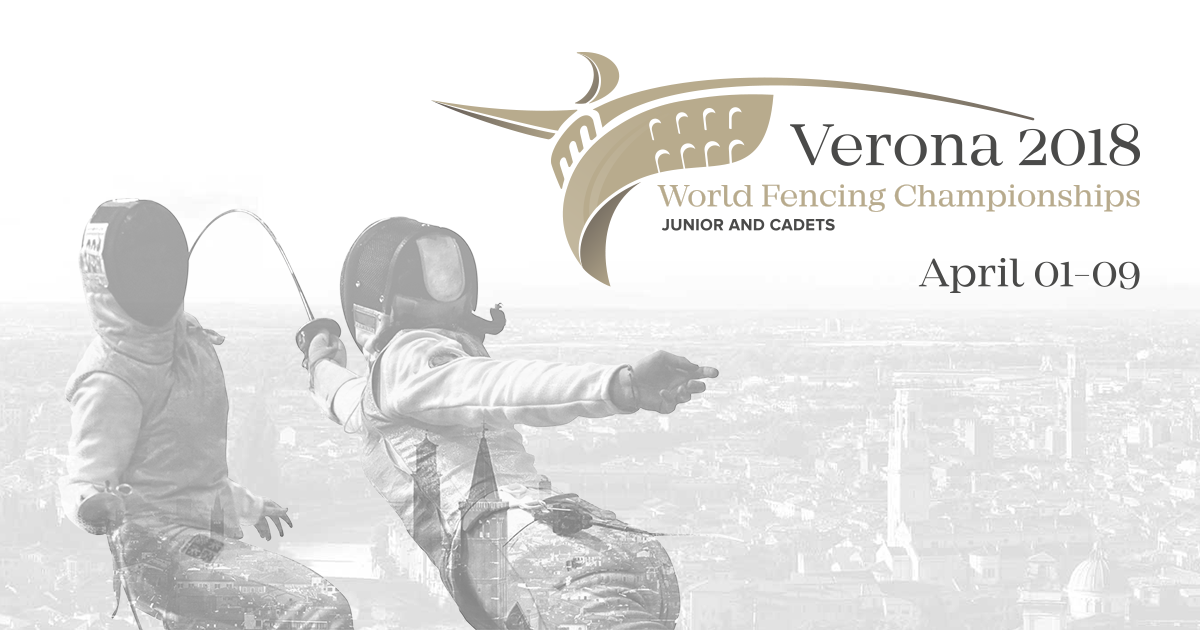 Di Veroli seeks more medal success for Italy as Verona hosts Junior and Cadets World Fencing Championships