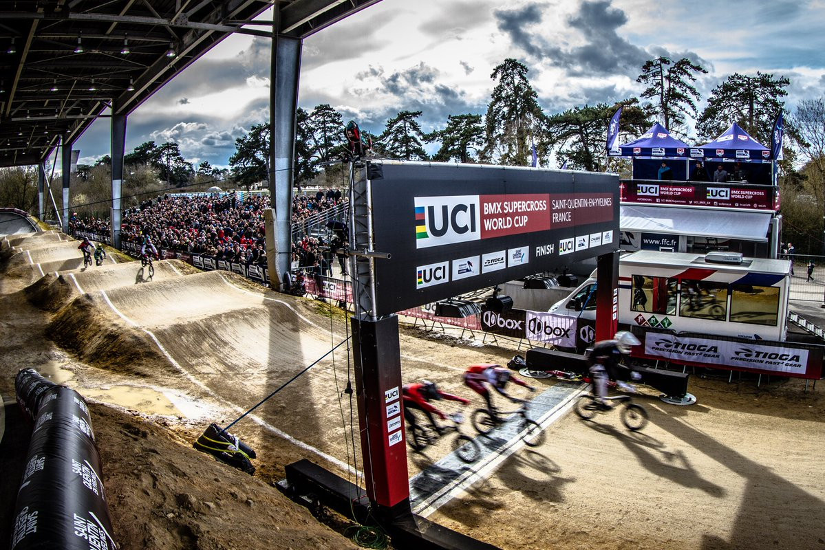 Kimmann profits as Andre crashes out of opening UCI BMX Supercross World Cup