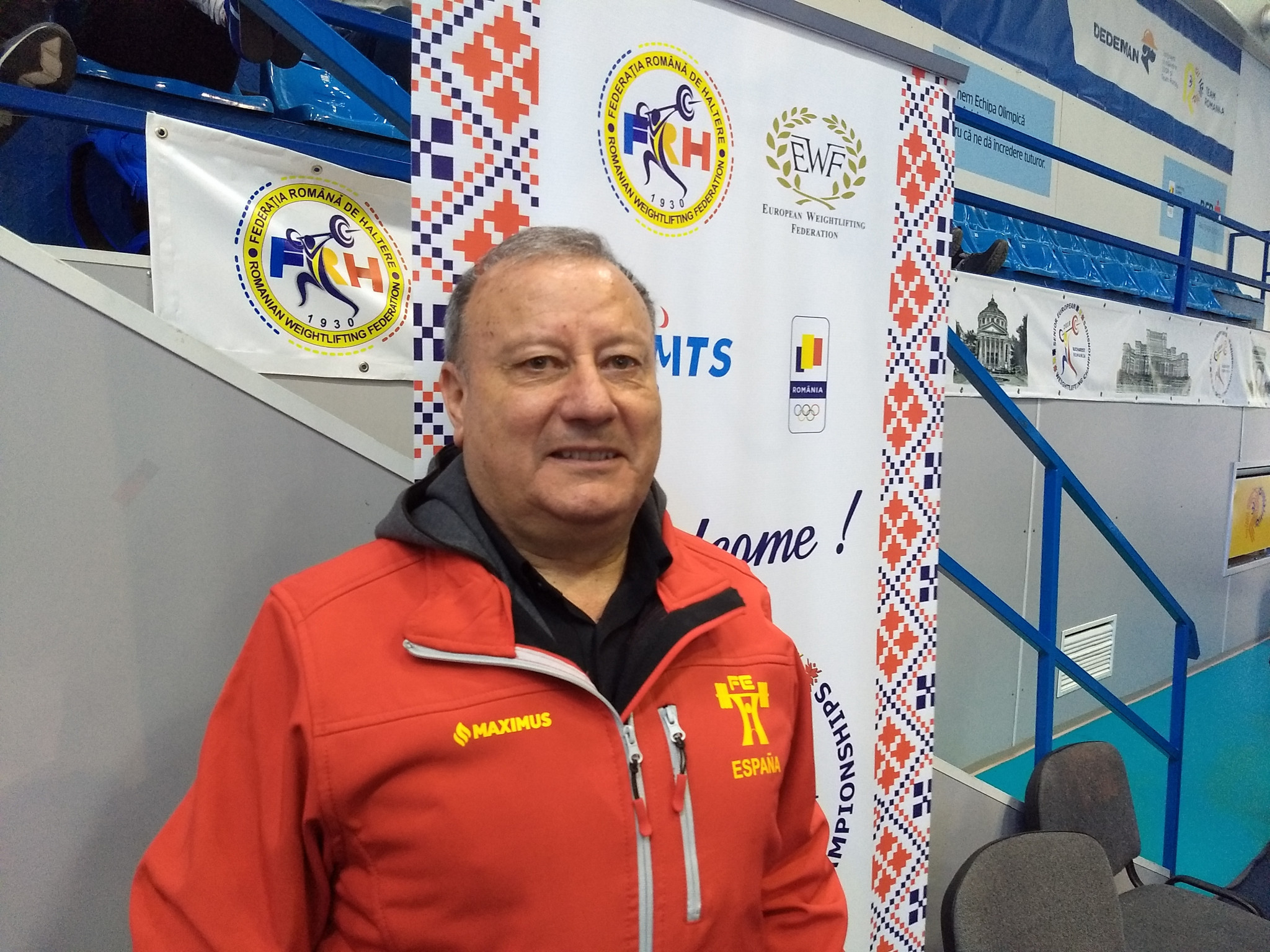 Constantino Iglesias, President of the Spanish Weightlifting Federation, is calling for help so that Kosovo can compete at the European Junior and Under-23 Championships in La Coruna in October ©Brian Oliver/ITG