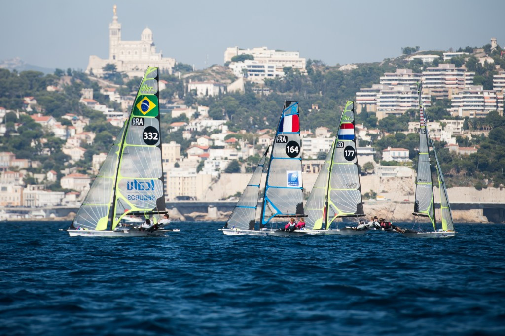 Sailing competitions would take place in Marseilles during the Paris 2024 Olympic Games ©AFP/Getty Images