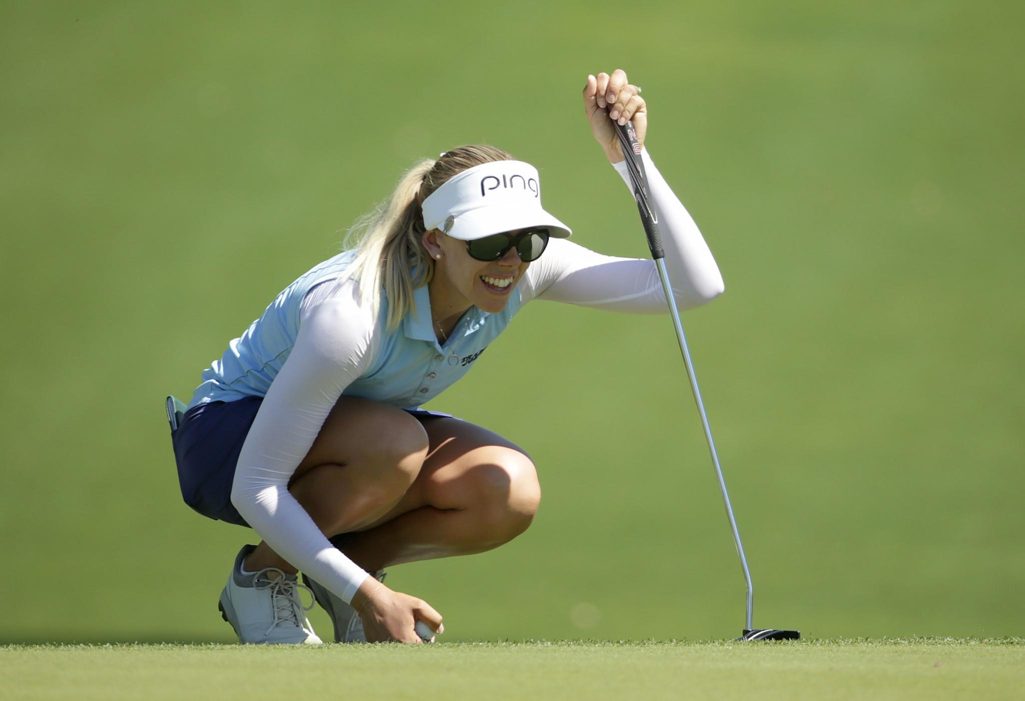Lindberg takes three-shot lead into final day of ANA Inspiration