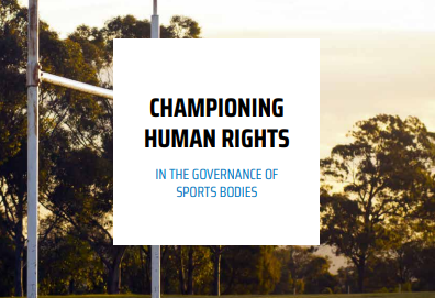 CGF publish mega-sports guide on boosting human rights in sport