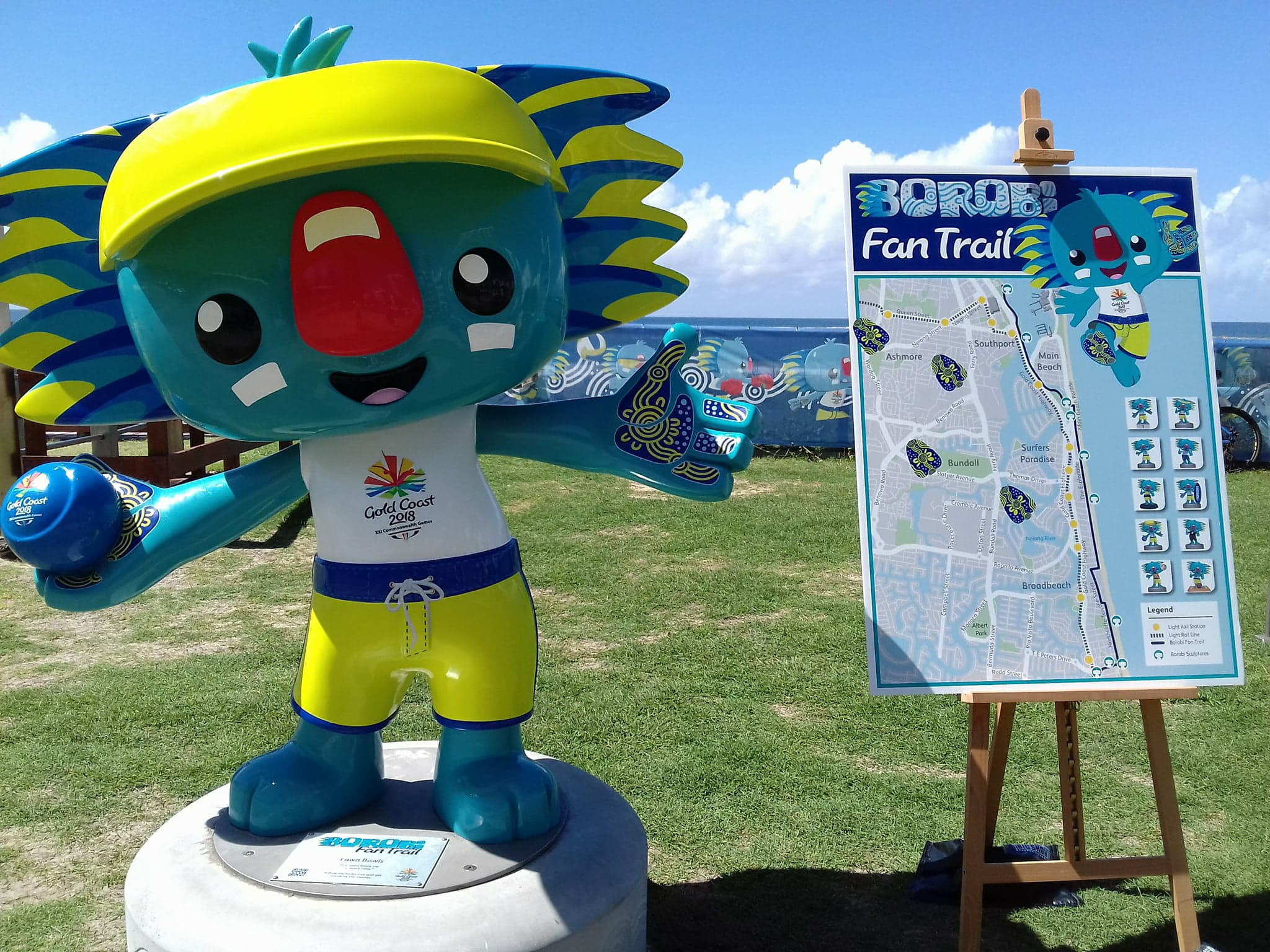 Gold Coast 2018 launch interactive mascot fan trail with prizes on offer