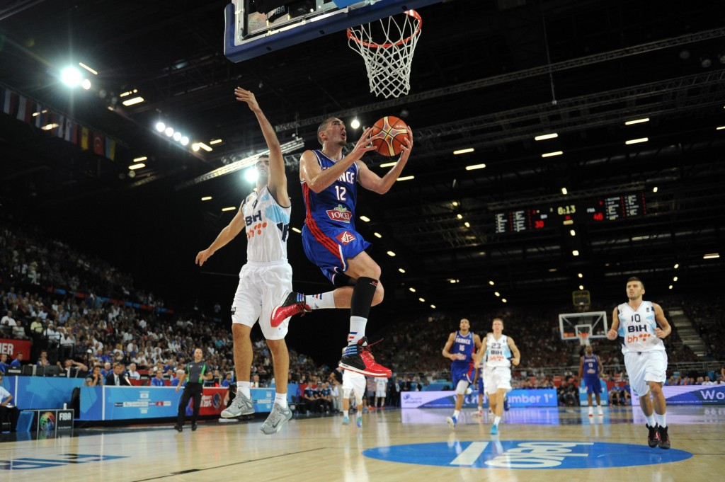France sealed a 81-54 win over Bosnia and Herzegovina in Montpellier