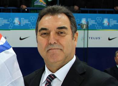FEDH President Frank Gonzalez believes the recent success of Spanish ice hockey sides can help grow the game ©IIHF