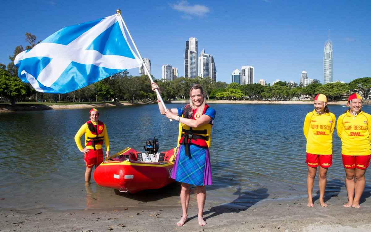 Eilidh Doyle will be Scotland's flagbearer for Opening Ceremony ©Team Scotland