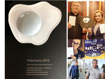 The Estonian Olympic Committee have been recognised for an anti-bullying campaign ©EOK