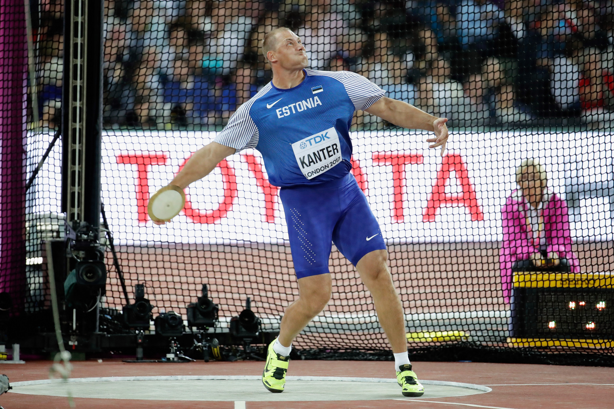 Gerd Kanter was one of the Estonian athletes who got involved ©Getty Images