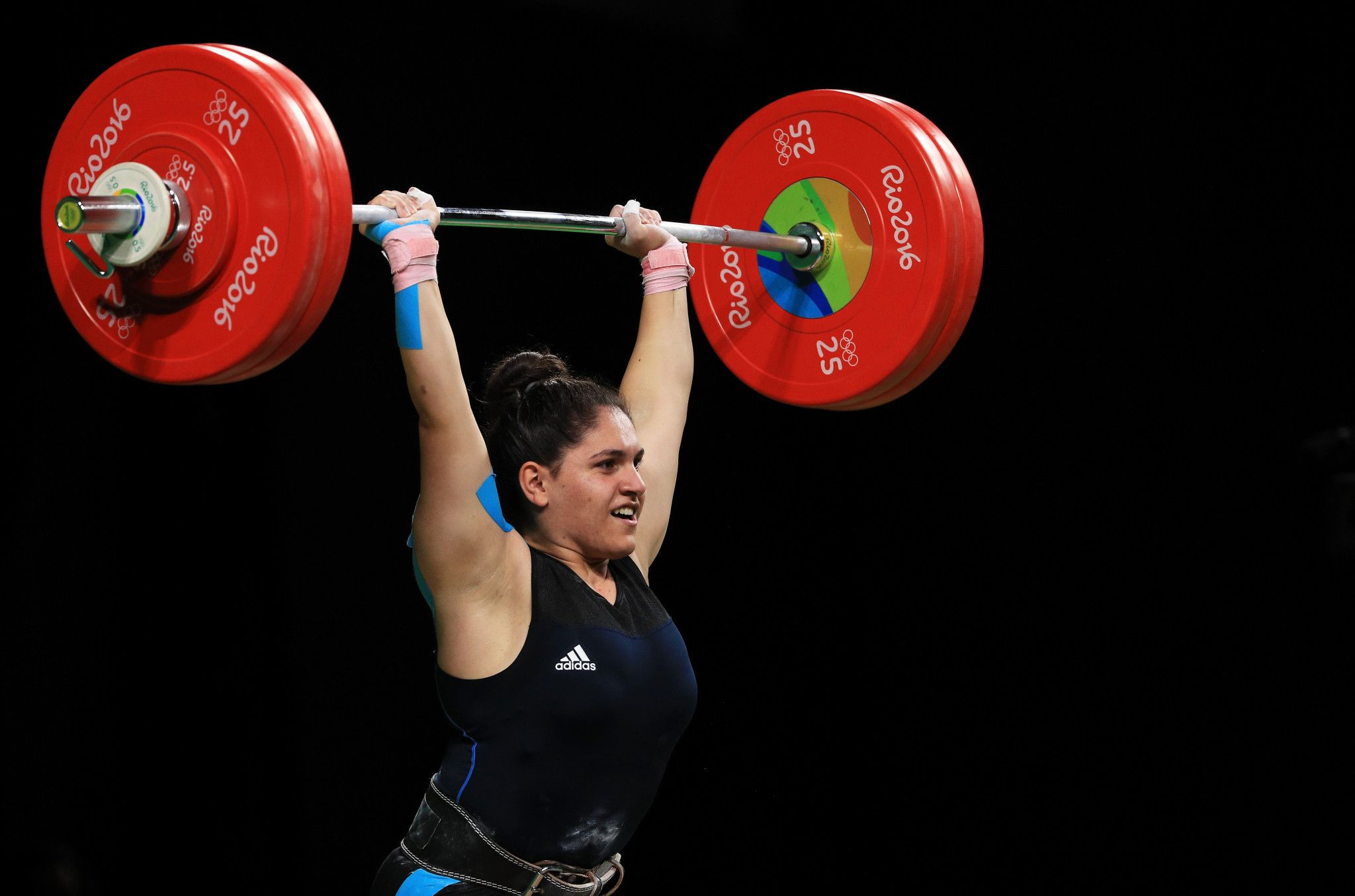 The IWF has also announced a failure against Sona Poghosyan ©Getty Images