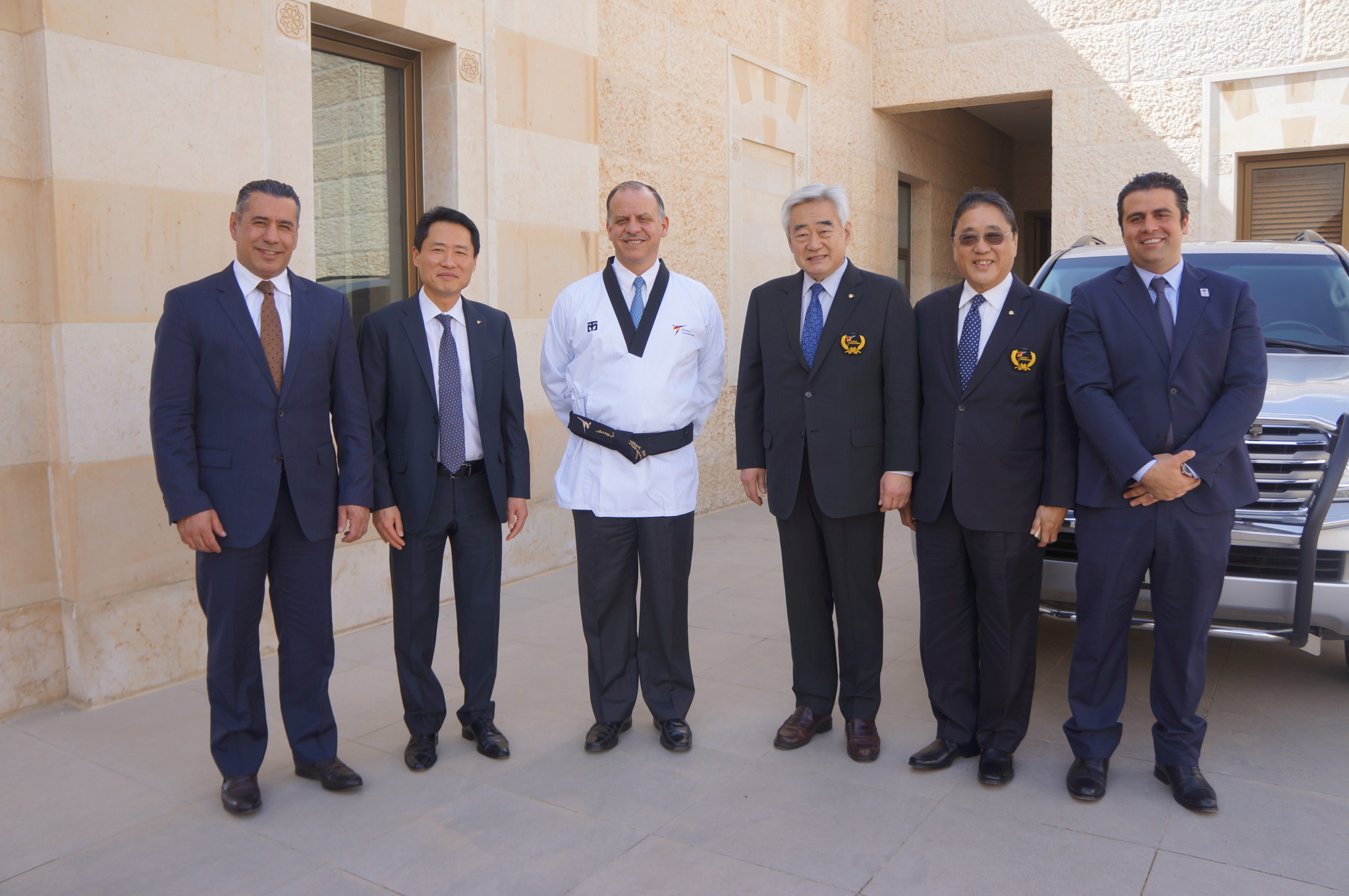 The recognition comes after the growth of taekwondo in Jordan ©World Taekwondo