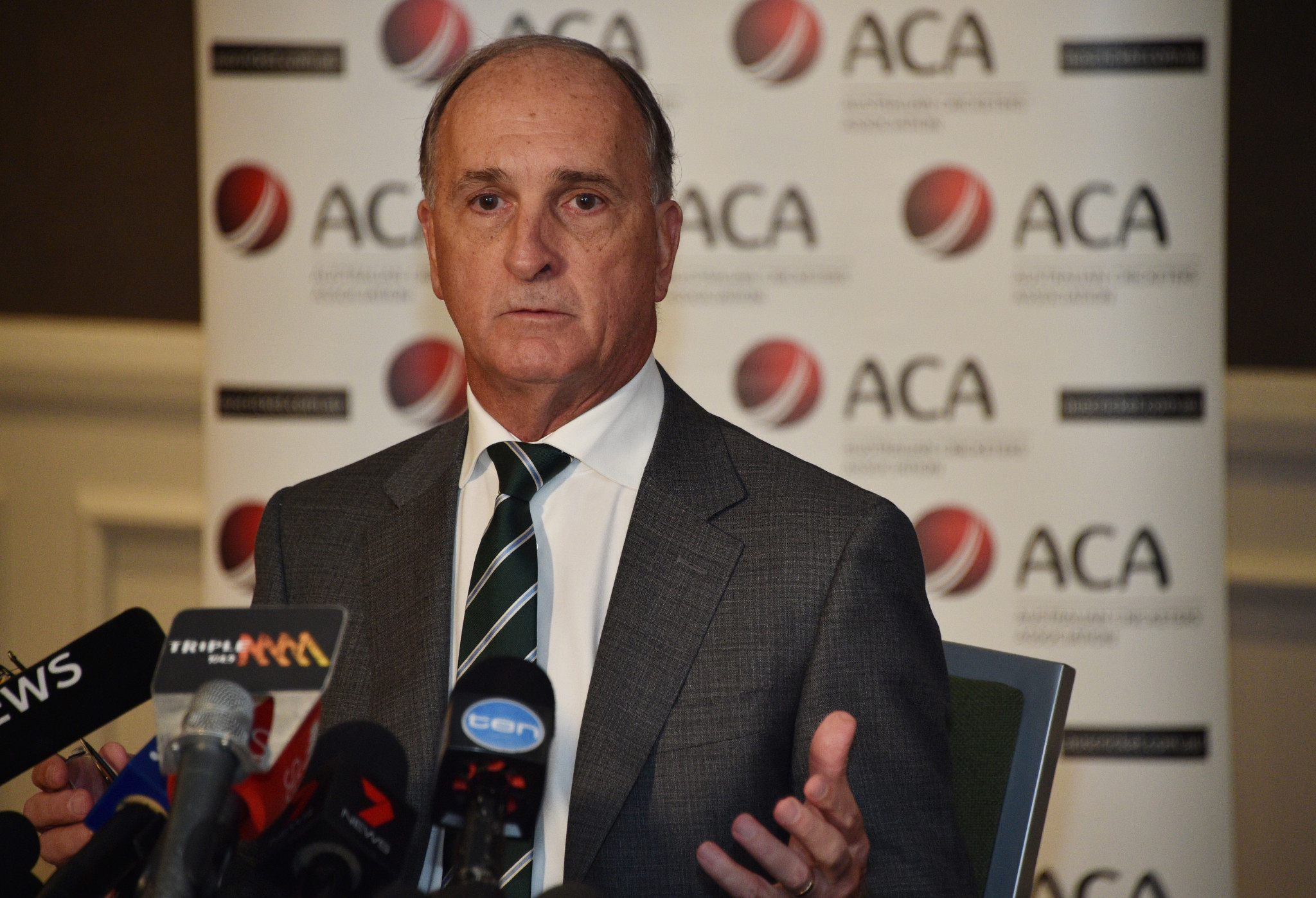 "Australian Cricketers' Association President Greg Dyer has said the bans handed to the trio of players involved in the country's ball tampering scandal are ""disproportionate"" ©Getty Images"