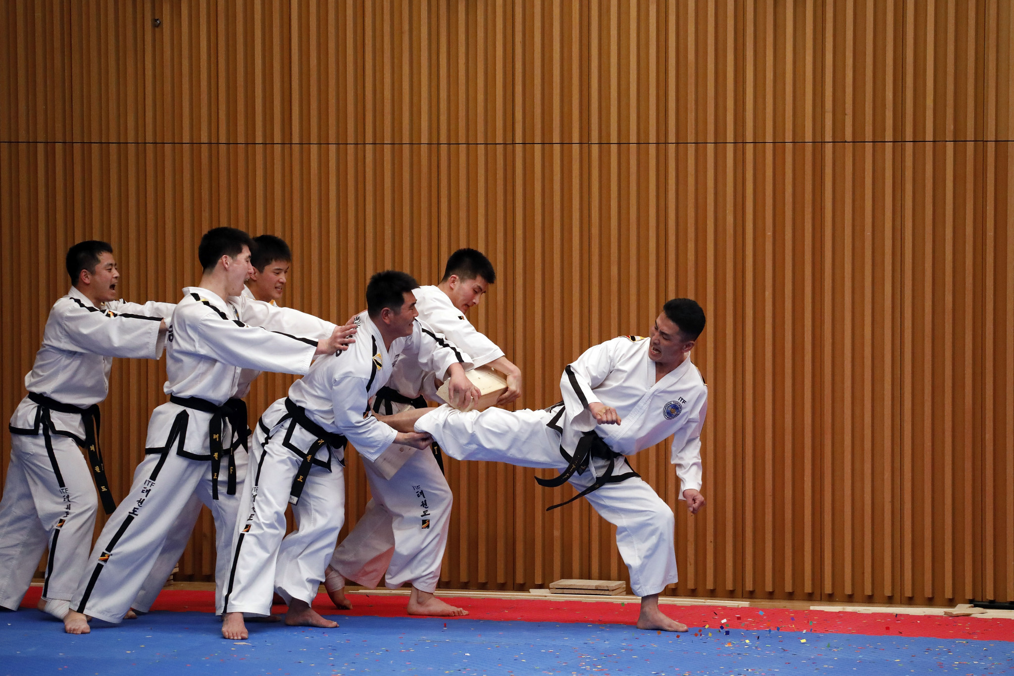 The legislation was designed to protect South Korea's status as the home of taekwondo ©Getty Images