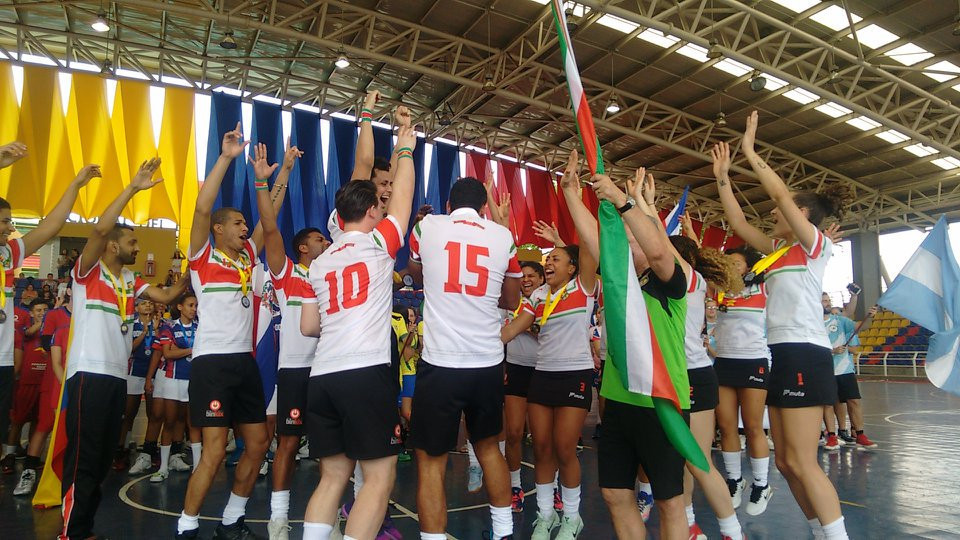 Suriname won the Pan American title with an undefeated performance ©IKF