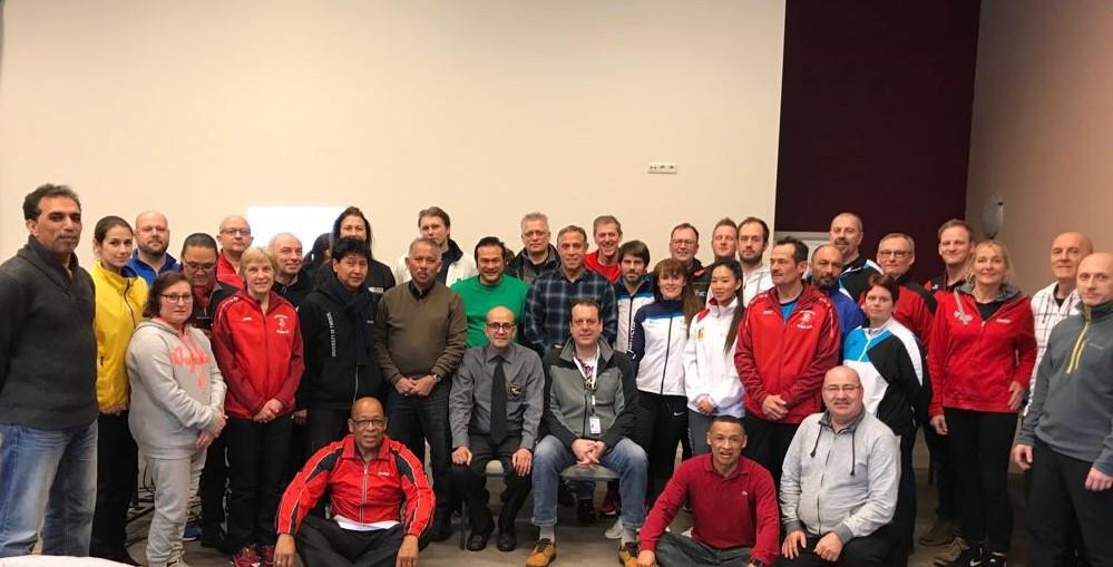 World Taekwondo Europe host poomsae seminar at Belgian Open