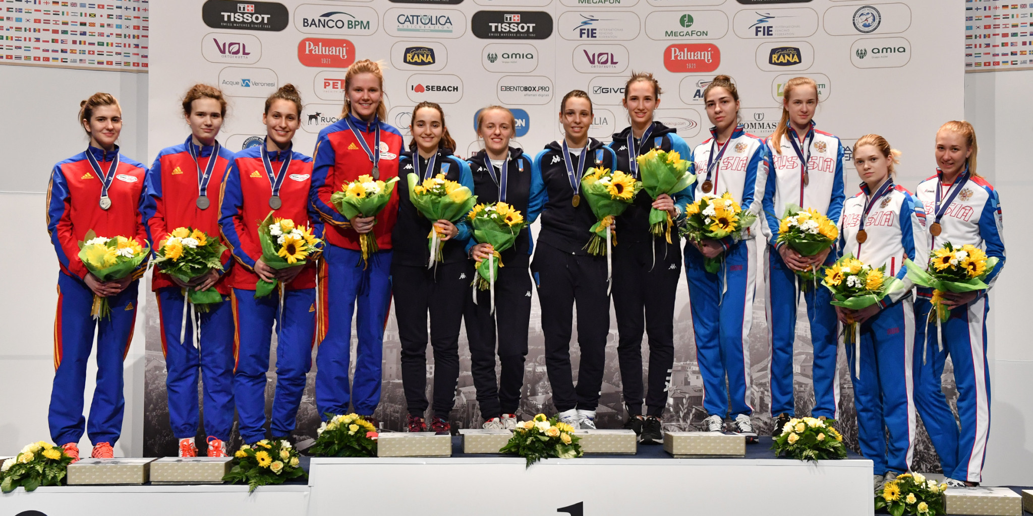Team gold for hosts Italy at Junior and Cadets World Fencing Championships