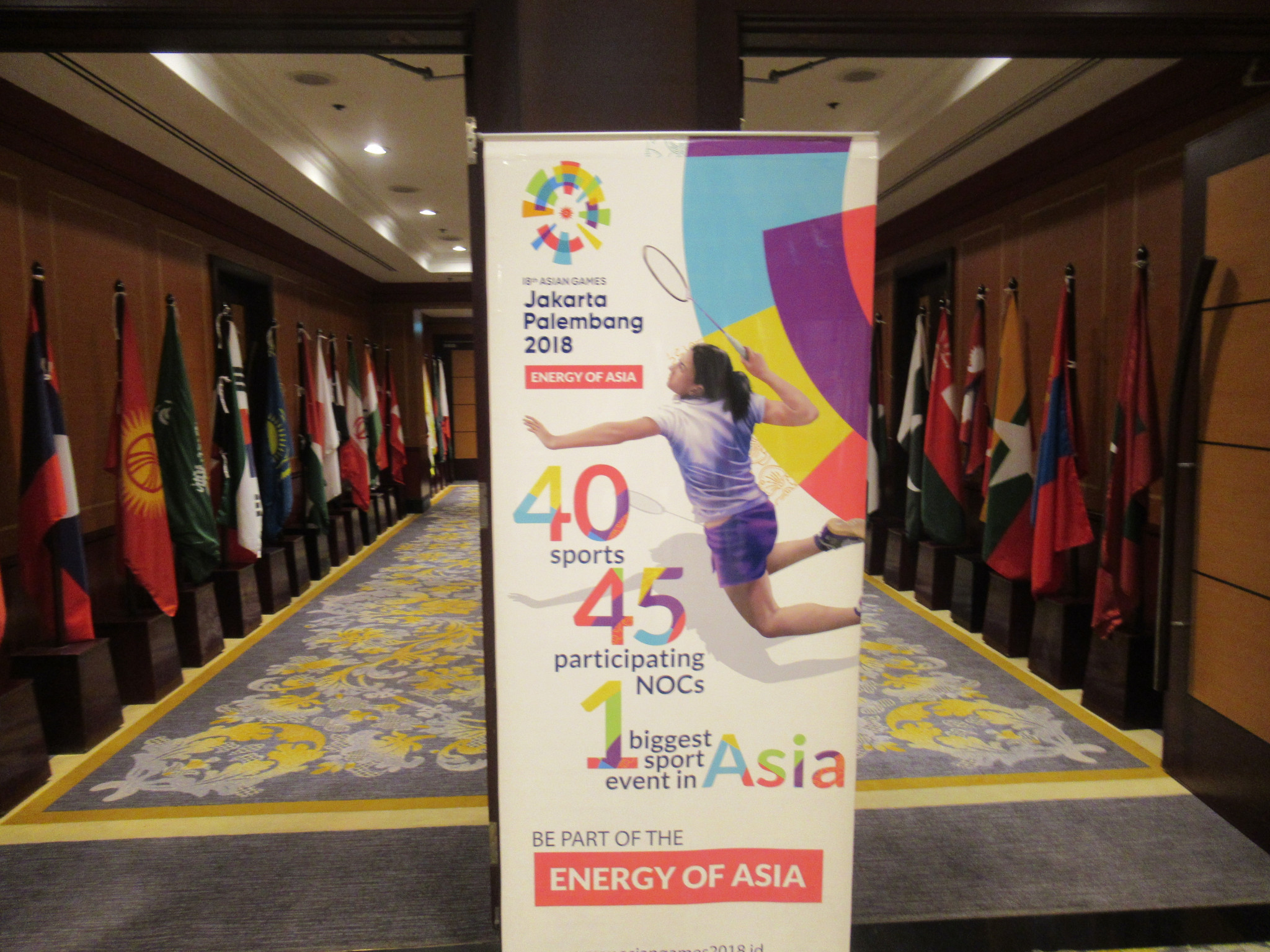 The 2018 Asian Games are due to take place from August 18 to September 2 ©OCA