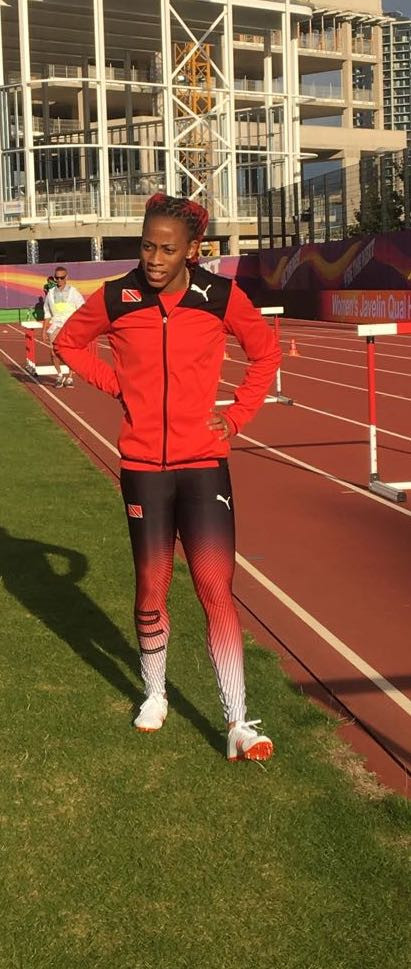 Trinidad and Tobago's Michelle-Lee Ahye is among the contenders in the women's 100m at Gold Coast 2018 ©TTOC
