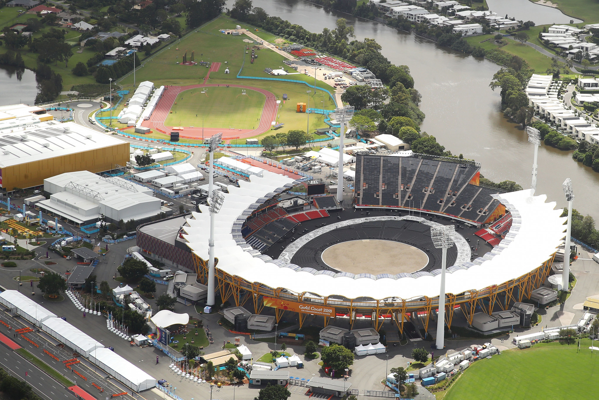 The Opening Ceremony is due to be held at the Carrara Stadium ©Getty Images