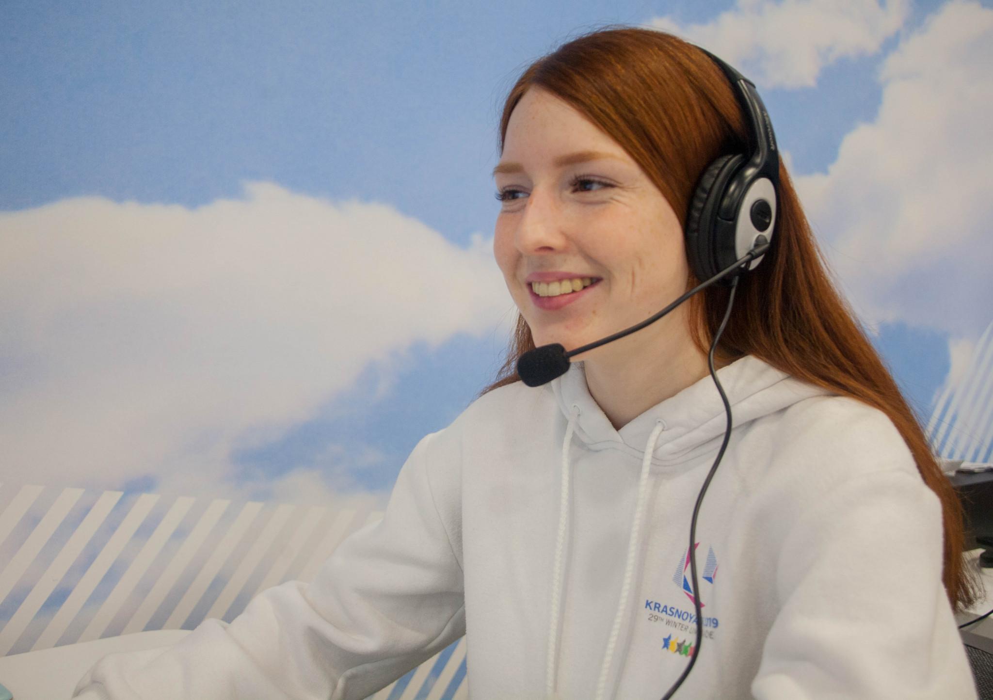 Krasnoyarsk 2019 are hoping all 5,000 volunteers at the Games will have a command of English ©Krasnoyarsk 2019