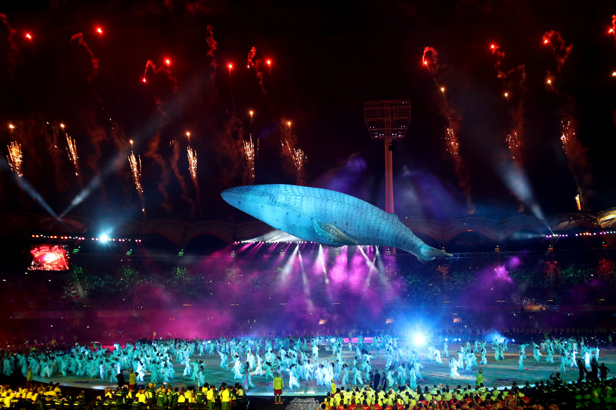 Gold Coast 2018 begins with vibrant and energetic Opening Ceremony