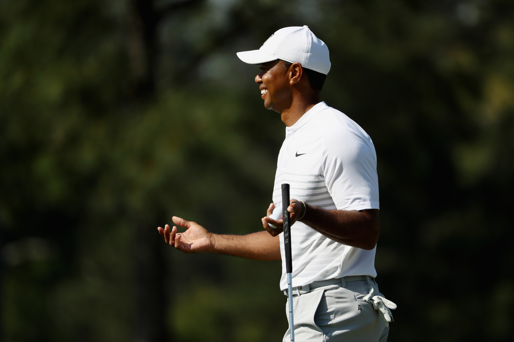 Tiger Woods will play in his first major since 2015 this weekend ©Getty Images