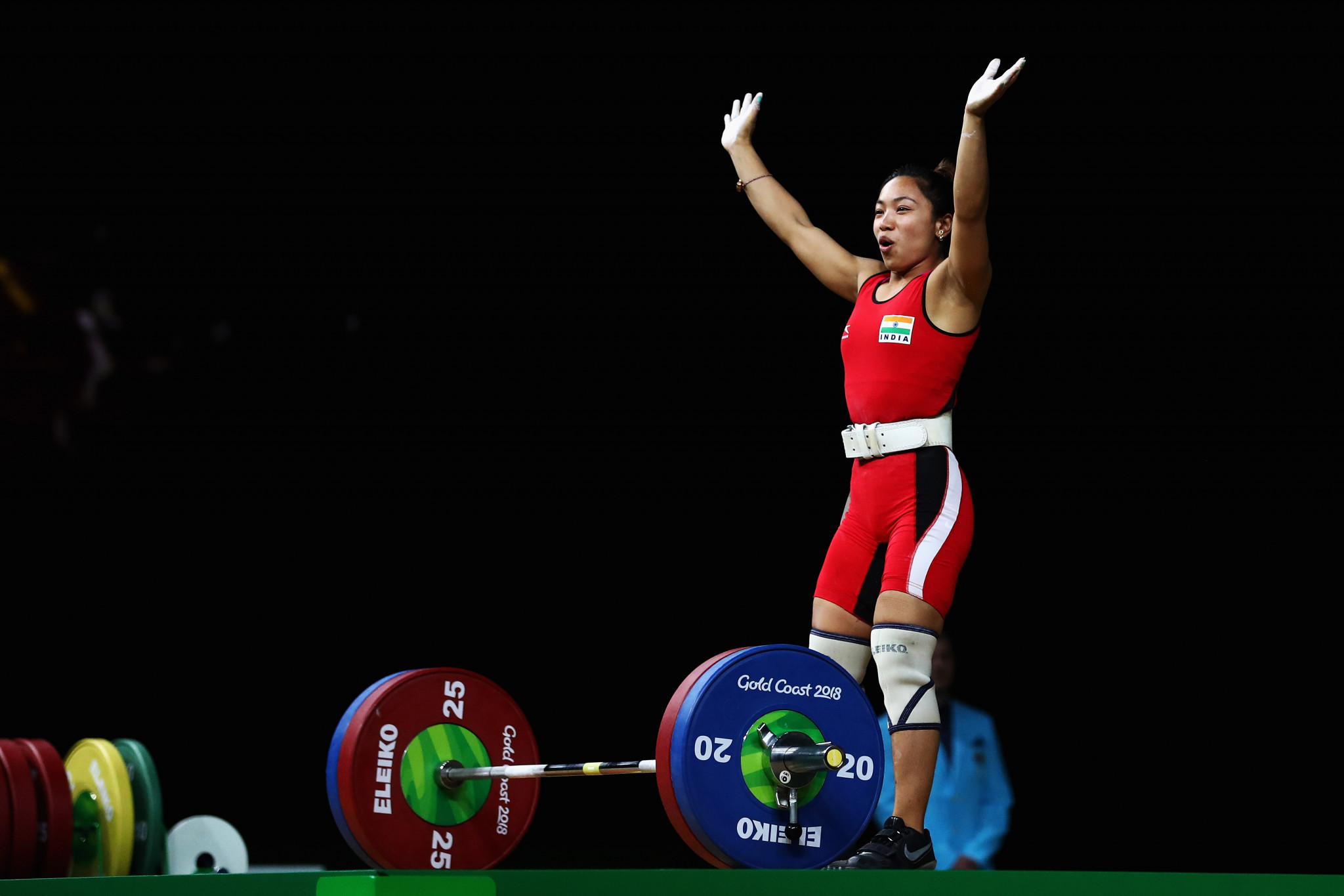 Mirabai dominates women's 48kg weightlifting event to open India's gold medal tally at Gold Coast 2018
