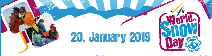 FIS have confirmed the date for World Snow Day 2019 ©FIS