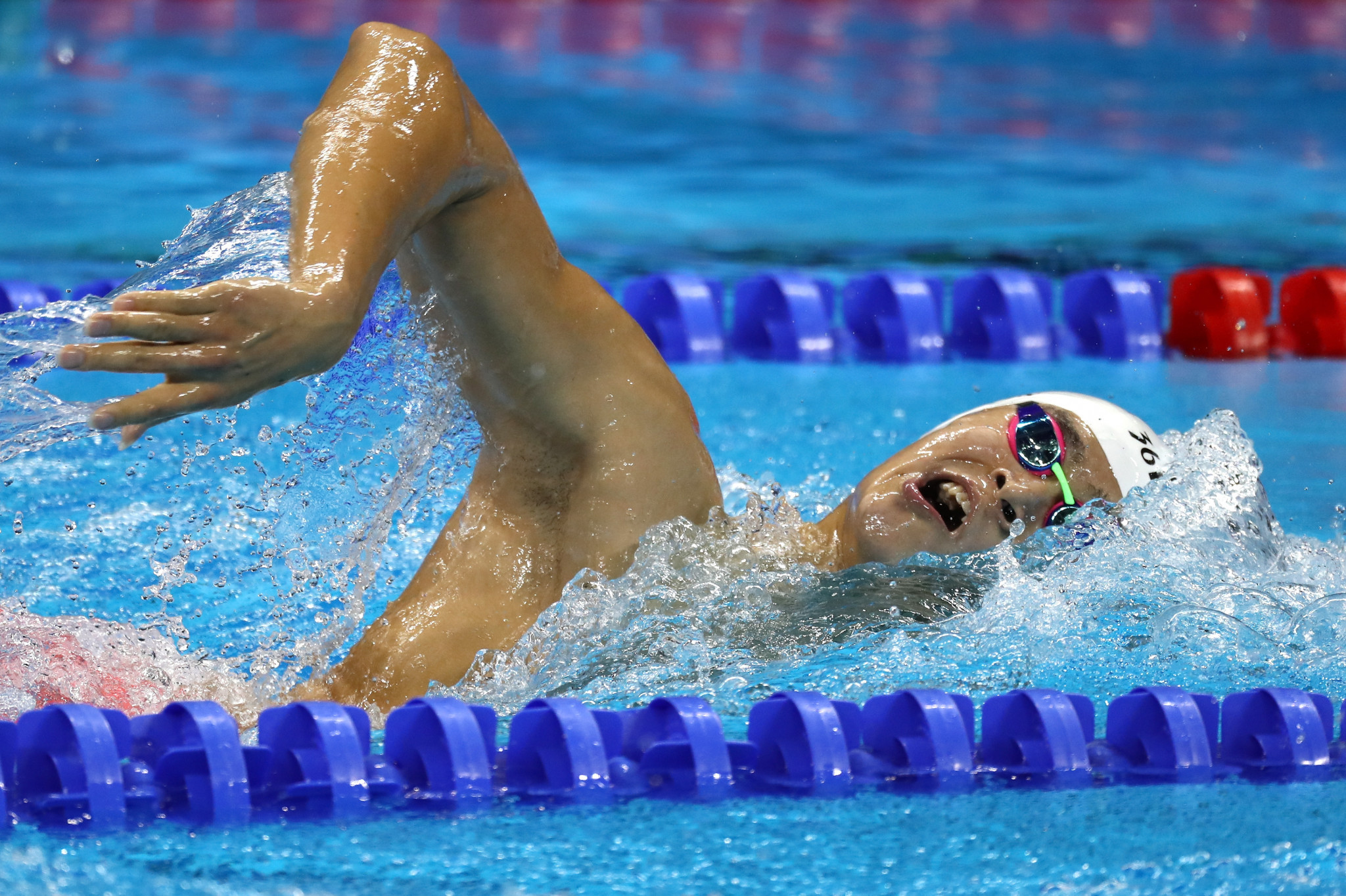 China's Sun Yang has been welcomed back into the sport after serving a secretive three-month doping ban ©Getty Images