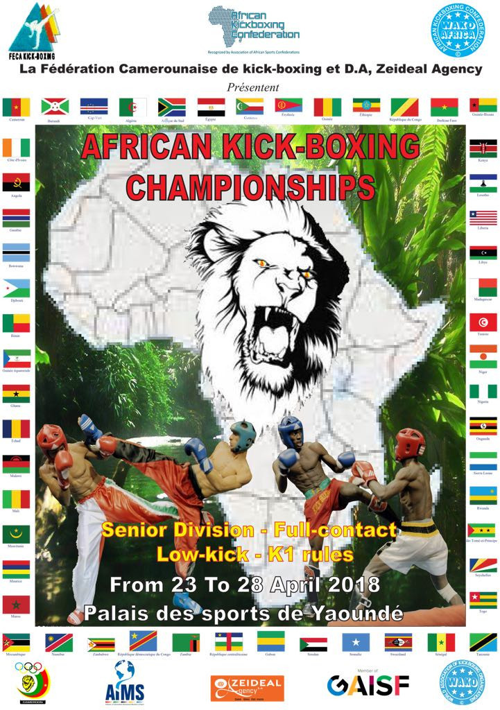 African Kickboxing Championships moved to late April